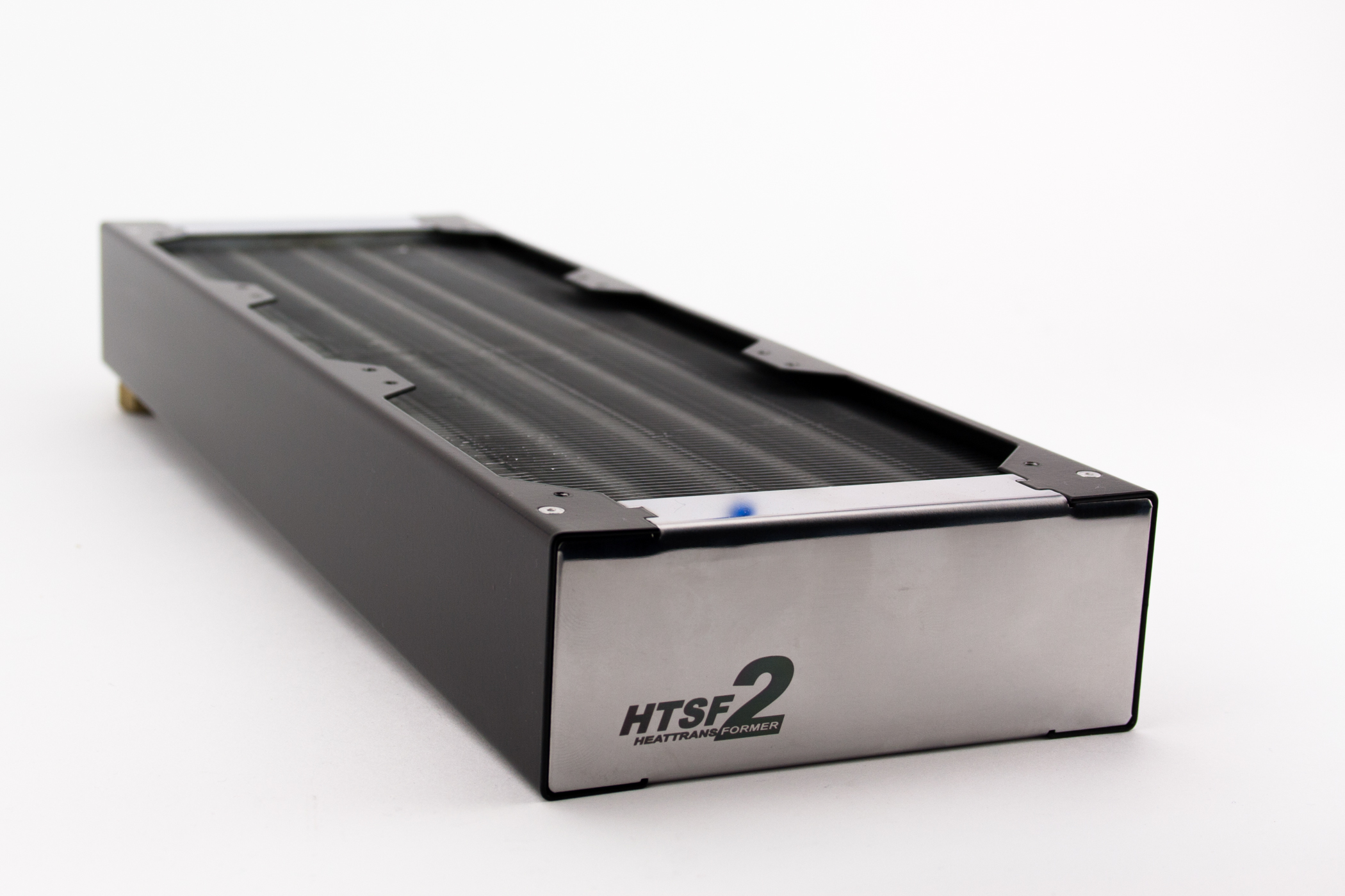 watercool htsf2 3x120 lt 360 radiator review - extremerigs